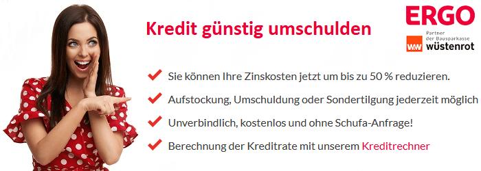 Kreditanfrage Umschuldung Berechnen